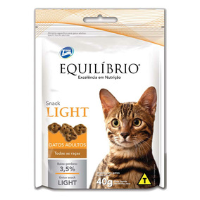 Petisco Equilibrio Light Para Gatos Adultos - 40g - 1 Unidad