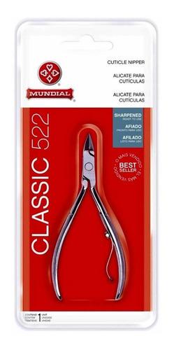 Corta Cuticula Alicate Mundial 522 Classic Original Sellado