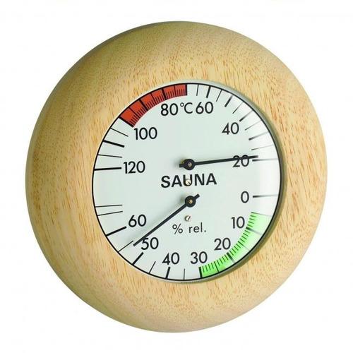 Termo-higrômetro Para Sauna Alemão Em Madeira