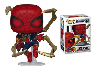 Funko Pop Iron Spider 574 Endgame Originales Entrega Ya