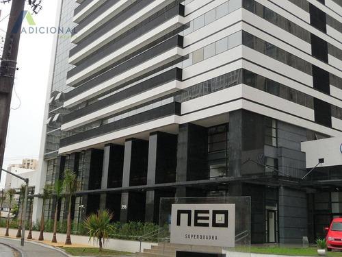 Conjunto Para Alugar, 46 M² Por R$ 1.350,00/mês - Centro Cívico - Curitiba/pr - Cj0001