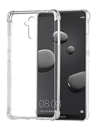 Forro Huawei Mate 20 Lite Transparente Reforzado Rígido