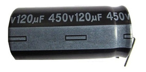 Capacitor 120uf X 450v