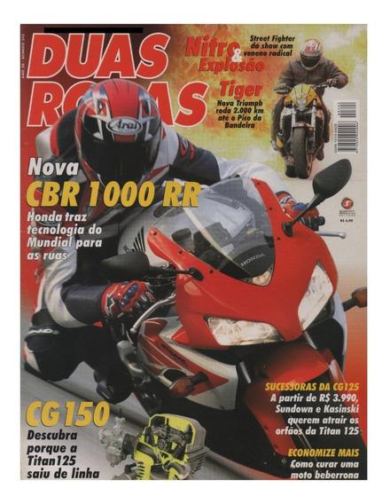Duas Rodas N°342 Honda Cbr 1000 Rr Fireblade Cg 150 Tiger