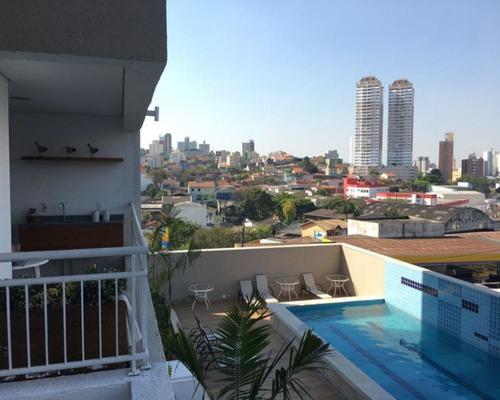 Apartamento  02 Dormitórios Moveis Planejados 74m C/suíte 1vg Terraces - Centro Sbc - Ap216v - 34528281