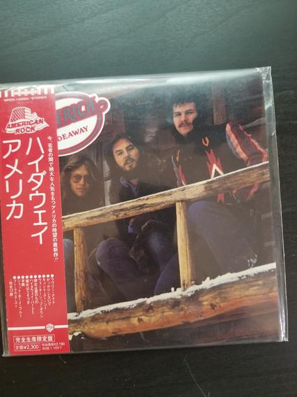 America Colecao 4 Mini Lps Remaster - Rock, Folk Japao