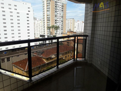 Apartamento Residencial Para Locação, Boqueirão, Santos - Ap1018. - Ap1018
