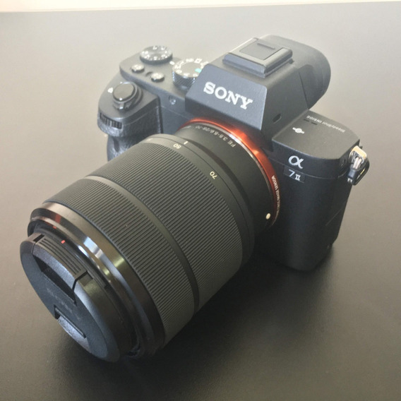 Câmera Sony A7ii Ilce-7m2/bq E38 Full Frame