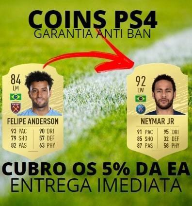 Coins Fifa 20 Ps4 500k Entrega Imediata Antiban Promoção