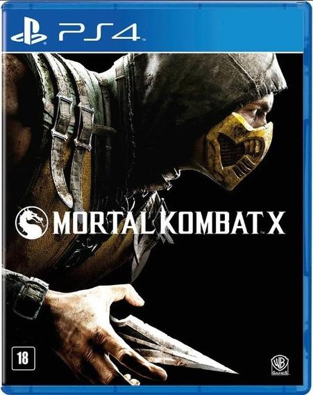 Mortal Kombat X - Ps4 Midia Fisica Em Português