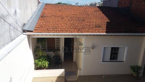 Casa Com 3 Dormitórios À Venda, 160 M² Por R$ 370.000 - Parque Jambeiro - Campinas/sp - Ca12940