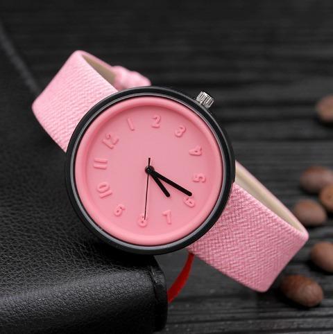 Relógio Feminino Rosa Importado Barato Promoção Atacado