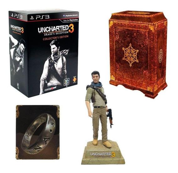 Uncharted 3 Drakes Deception Collectors Edition Ps3 Física
