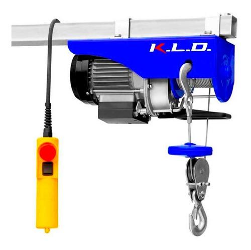Imagen 1 de 5 de Aparejo Eléctricio Kld 500k Kldae500 1020w Cable Acero 12m