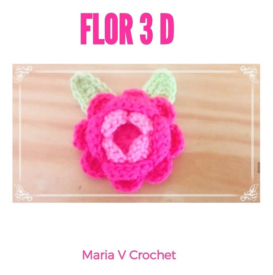Amigurumi Flor 3d Pdf