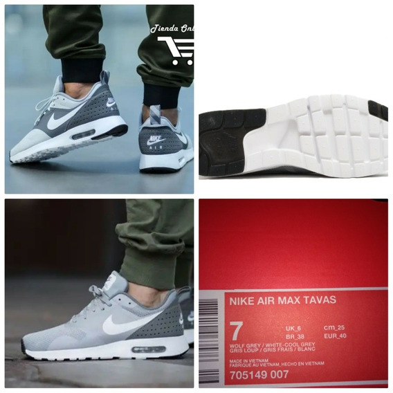 Zapatillas Nike Airmax Tavas Originales En Caja