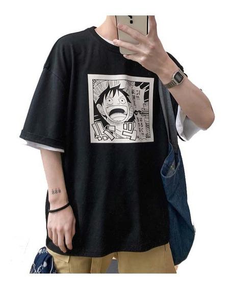 Playera Casual Manga Tres Cuartos Para Caballero R21018