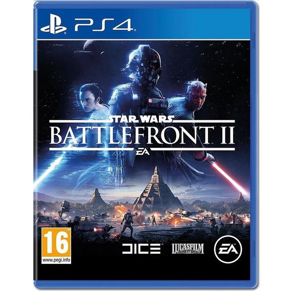 Jogo Star Wars Battlefront 2 Ps4 Disco Físico Nacional Br