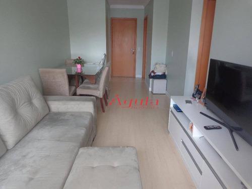 Apartamento Com 2 Dormitórios À Venda, 60 M² Por R$ 345.000,00 - Casa Branca - Santo André/sp - Ap1100