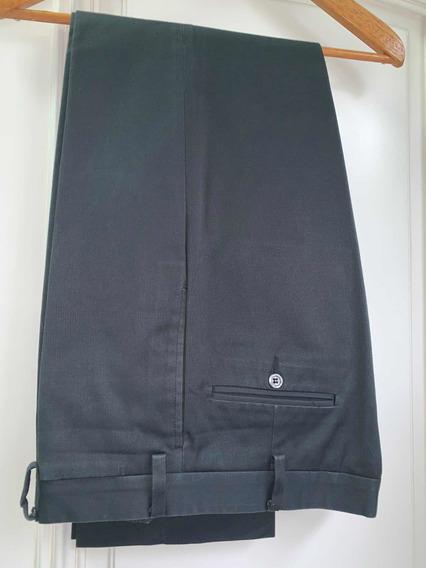 Pantalon Etiqueta Negra Gabardina Negro Small