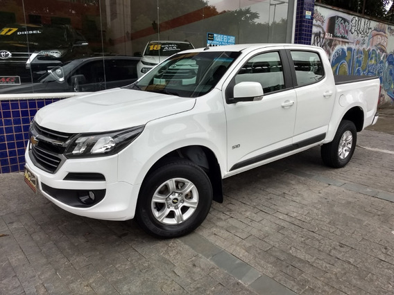 Chevrolet S10 Dupla Lt Flex Autom 2018/2018 Branca Ud Acess