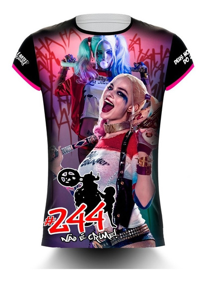 Camisa 244 Não É Crime/cabo Enrolado - Alerquina