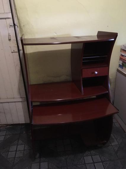 Mesa Para Computador Com Suporte Para Impressora
