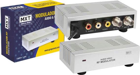 Mini Modulador Conversor De Rf P/ Áudio Vídeo