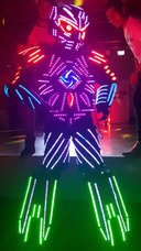 Robô De Led Pretender Prime