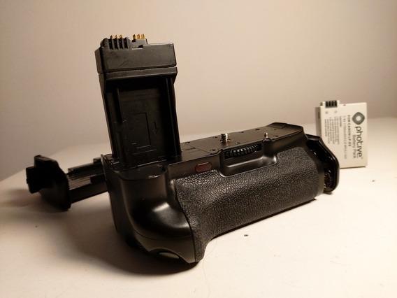 Grip Para Camera Canon Serie Rebel T3i - Bateria De Brinde
