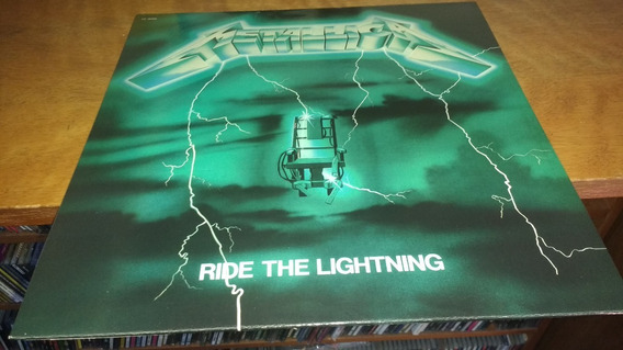 Metallica Ride The Lightning Lp Vinilo Rojo