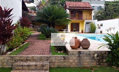 Imagem 1 de 23 de Casa Linear Em Terreno De 960m², Costazul, Rio Das Ostras. - Ca1049