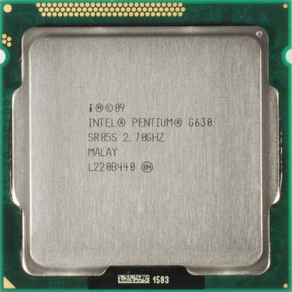 Processador Intel Pentium G630 2.70ghz Dual Core 3mb