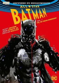 All Star Batman Vol. 1 - Yo, Mi Peor Enemigo - Scott Snyder