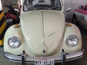 Volkswagen Clásico Extraordinario Placas Auto Antiguo Cdmx