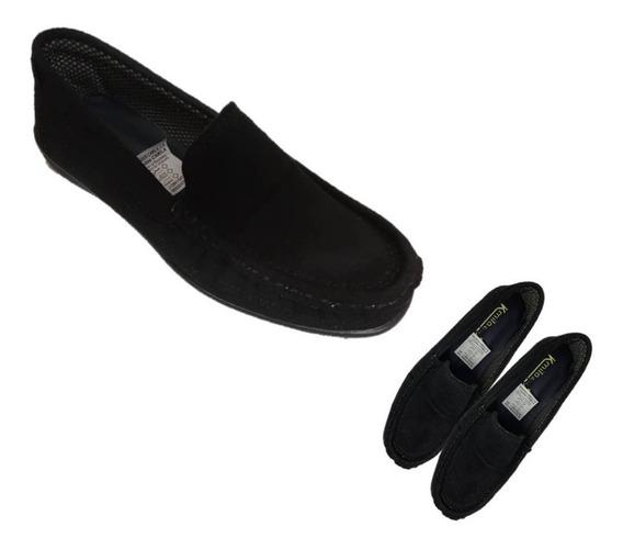 Zapatos Mocasín Para Damas Color Negro
