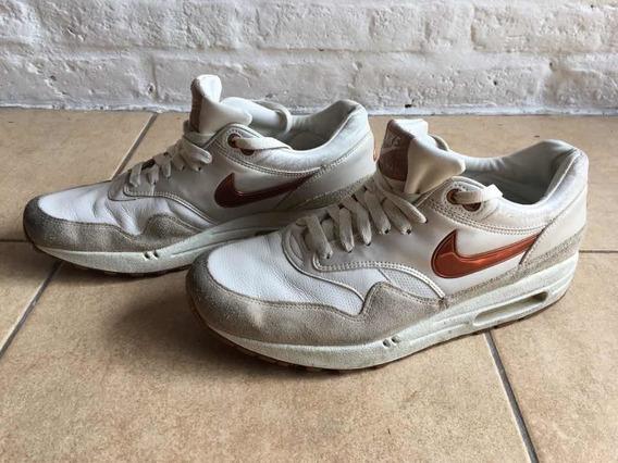 Zapatillas Nike Air Max 1 Premium Sp Crudo Y Cobre T. 9 Usa
