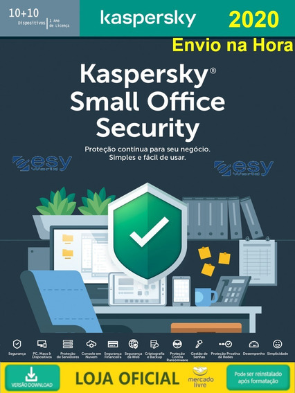 Kaspersky Small Office Security 10+1 Servidor 2019