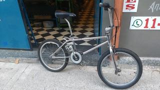 Bicicleta Rodado 20 Cross Cromada Impecable. Leer Envio