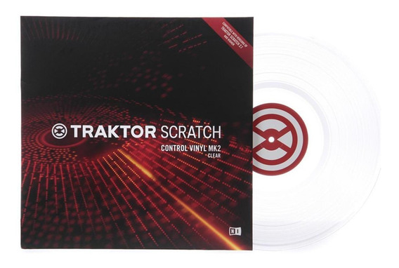 Traktor Scratch Vinyl Mk2 White (time Code)