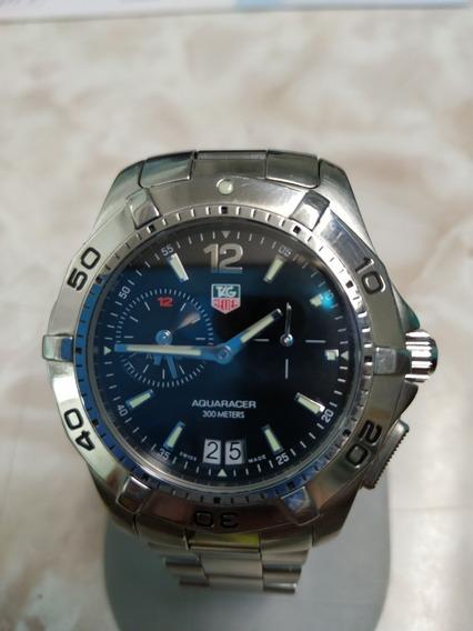 Reloj Tag Heuer Aquaracer 300 Mts Alarma