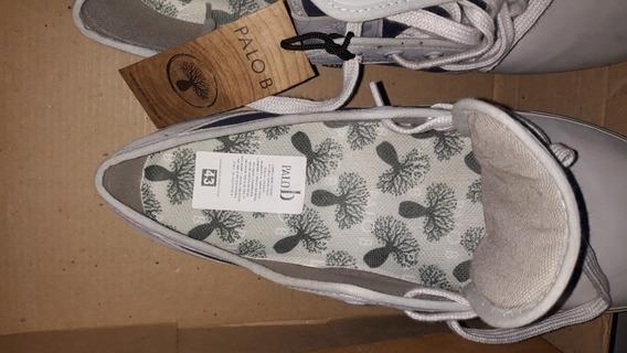 Zapatillas De Cuero Palob Num. 43 Nuevas.