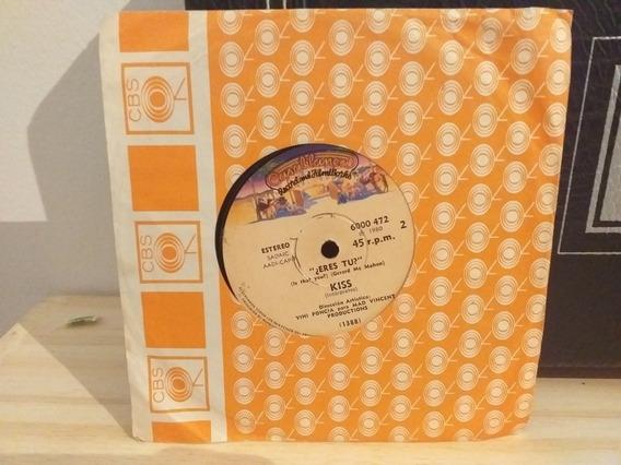 Kiss Shandi Eres Tu Simple 7 Pulgadas 1980 Unmusked