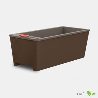 Horta Compacta Auto Irrigável Vaso Cultive Simples Café