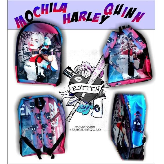 Mochila Harley Quinn!!! Escuadron Suicida, Unicas!!!