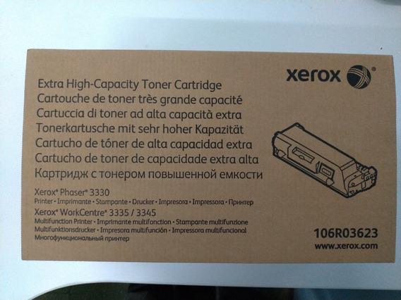 Toner Xerox Original 3330 3335 3345 106r03623