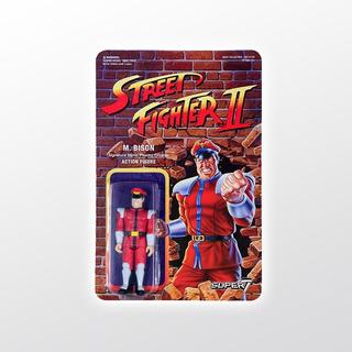Street Fighter 2 Reaction M. Bison Super 7 Tierra Prima