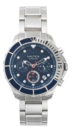 Relógio Nautica Masculino Aço - Napptr004