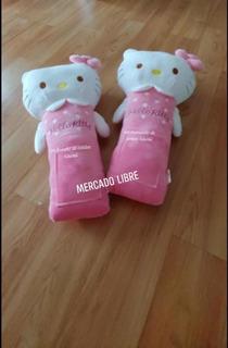 Cubre Cinturón De Seguridad Para Auto Hello Kitty Sanrio