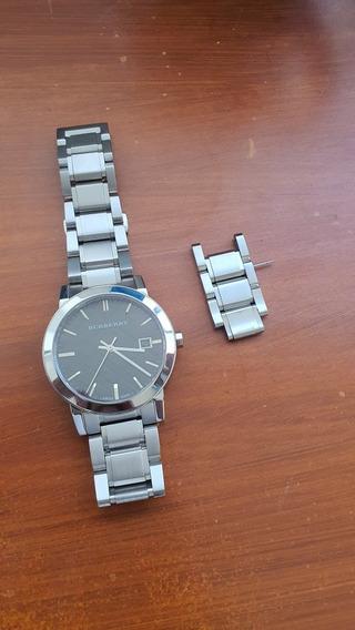 Reloj Burberry Bu9001 Cristal Zafiro